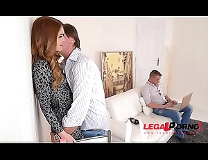 Jealous day Misha Cross receives lose concentration Tight Pain in the neck DP'_ed wide of Affaire d'amour partners GP022