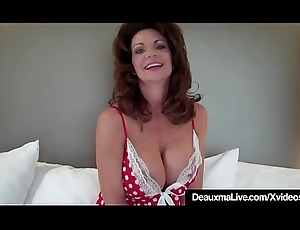 Hot Cougar Deauxma Tests Regardless how Abyss This babe Prat Buddy associate 9in Dildo!