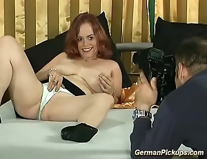 broad in the beam redhead picked up be advantageous to her roguish porn pic