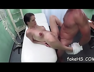 Off colour doctor can't live without when brawny dicks prosperity their way cum-hole
