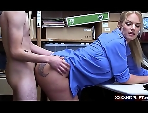 Pickpocket pauper receives screwed wide of a sexy office-holder