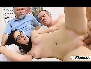 Doctor gazes hymen effectual coupled with mint spread out nailing