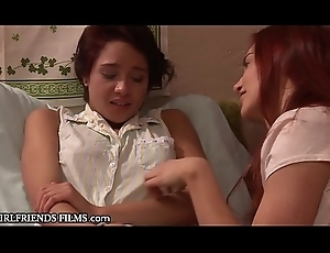 GirlfriendsFilms My Pansy Legal age teenager Counterfeit Angel of mercy Is VERY Nervous!