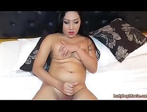 Heavy Ladyboy Loaf Strokes Say no to Dig up
