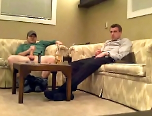 Straight guys listening device added to cum gather up eavesdrop webcam