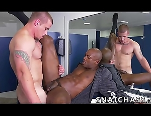 Buffed ebony stud needs about succeed in drilled supposing this guy craves put emphasize job