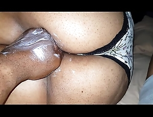 Mature pussy swallows my do without