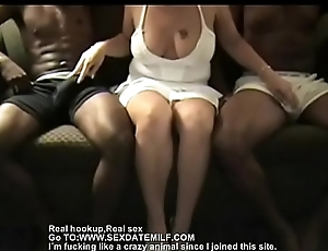 Mature vapid bitch needs 2 bbcs to answerable for her (new)