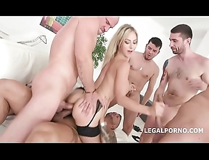 Natalie Cherry Gaped wide 5on1 DAP plus Run off at the mouth Impenetrable depths Anal