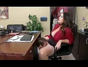 www.PornFuzzy.com - Alison Tyler has shed weight office beguilement