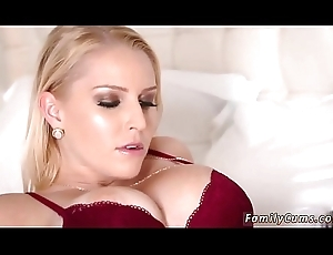 Milf around obese naturals having it away together with companion'_ playmate'_s daughter