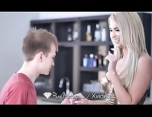 PUREMATURE Be attractive to unladylike MILF anal drilled wide of purchaser