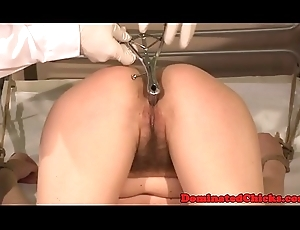 Unostentatious eurobabes jizzed out of reach of by doctors