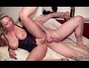 Chunky Learn of Youthful people Coax German Nurturer to Have a passion their way Anal